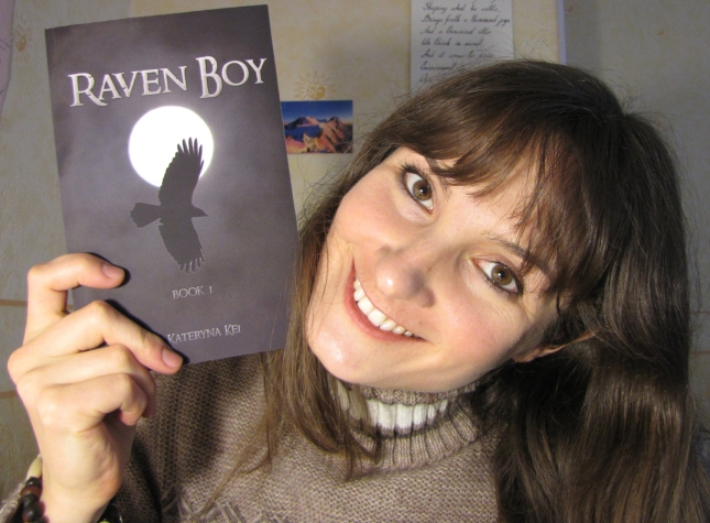 Kateryna Kei, author of Raven Boy fiction saga